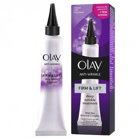Olay - Стягащ и обновяващ кожата дневен крем за третиране на дълбоките бръчки, 30 мл.